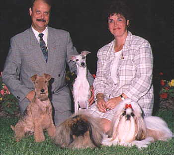 Richard & Wendy and various breeds